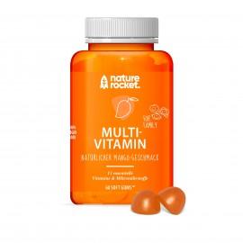nature rocket® MULTIVITAMIN 60 Soft gums