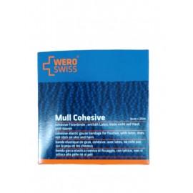 WERO SWISS ®  Bandaj elastic cohesiv de fixare 8cm x 20m