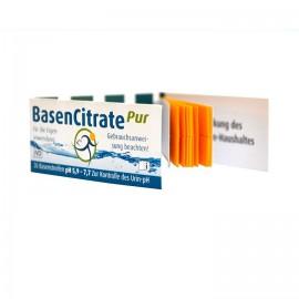 MADENA® BasenCitrate Pur 26 benzi indicatoare pH