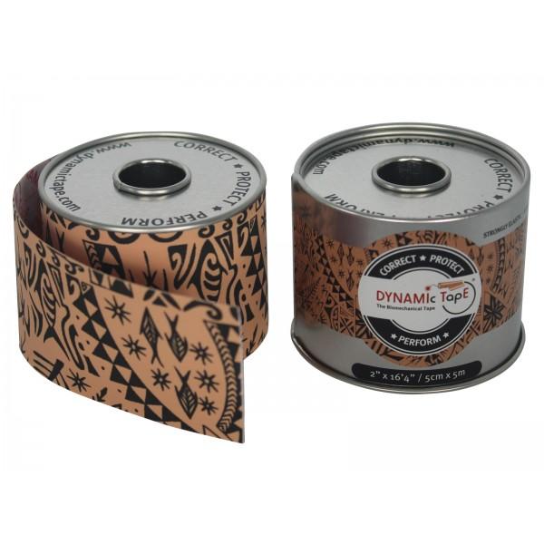Dynamic Tape ® BIOMECHANICAL TAPE Black Tattoo 5cm X 5m